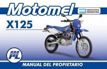X3M 125 - Manual del Propietario.indd - Motomel