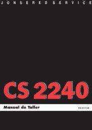 Manual de Taller - Jonsered