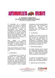 EL SISTEMA DE COMBUSTIBLE DE LOS MOTORES DE ...