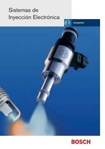 Sistemas de Inyección Electrónica - Bosch Service - Perú