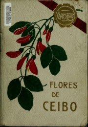 Flores de ceibo; poemas