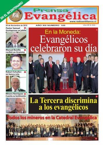 La Tercera discrimina a los evangélicos - Radio Antillanca
