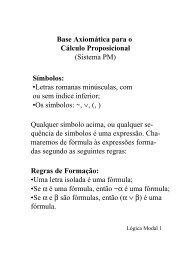 Lógica Modal - DCA