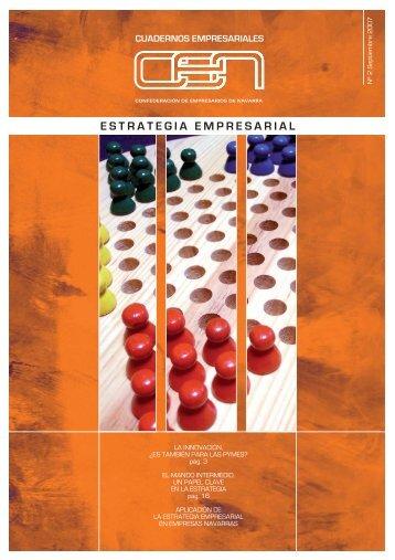estrategia empresarial - Confederación de Empresarios de Navarra