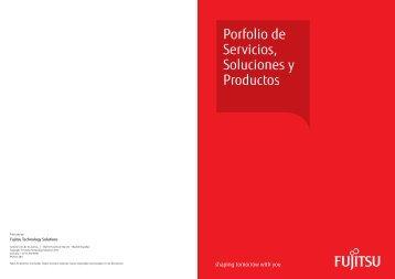 Porfolio de Servicios, Soluciones y Productos - Fujitsu