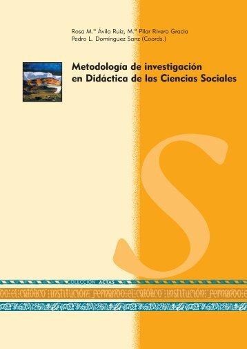 Metodología de investigación en Didáctica de las Ciencias Sociales
