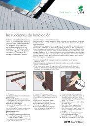 Instrucciones de Instalación