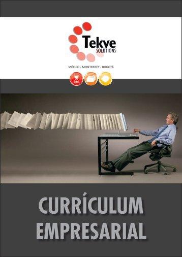 CURRICULUM EMPRESARIAL Descargar - Tekve Solutions