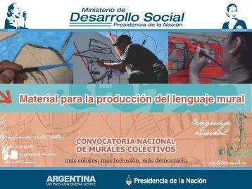 Material para la producción del lenguaje mural - Ministerio de ...