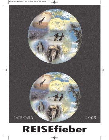 Media 2008 Englisch - REISEfieber-Magazin