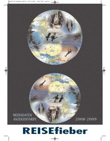 Media 08 komplett Mails - REISEfieber-Magazin