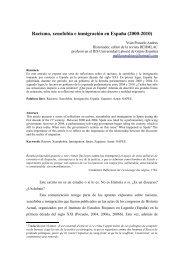 Racismo, xenofobia e inmigración en España ... - Letras - Uruguay