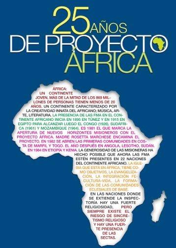 áfrica: un continente joven, más de la mitad de los 869 mil