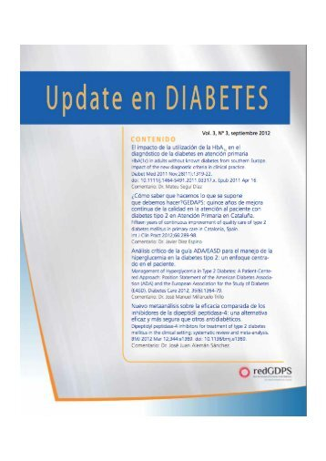Vol. 3, Nº 3, Septiembre 2012 - redGDPS