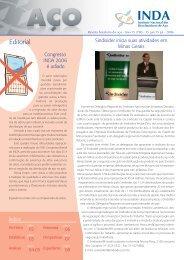 Revista brasileira do aço - Ano 15 nº80 - INDA