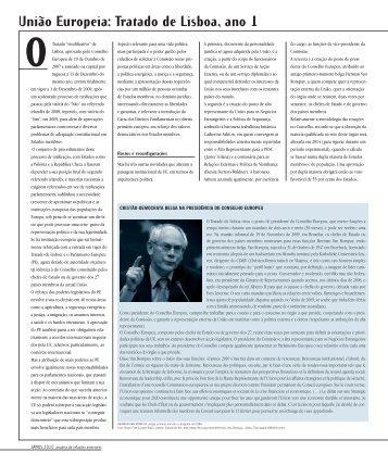 União Europeia: Tratado de Lisboa, ano 1 - Janus