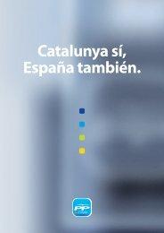 Catalunya sí, España también. - Fundació per la Pau