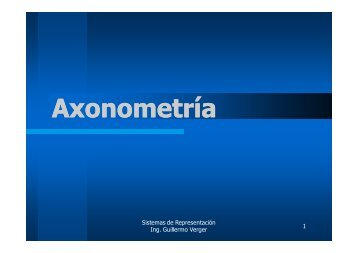 Axonometría
