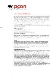 Datenschutzerklärung als PDF - acon Energie Management GmbH