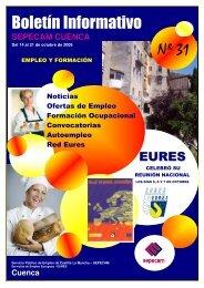 Boletín Informativo Nº 31 - Empleo y Formación - Junta de ...