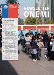 Newsletter 51º edición agosto - Onemi