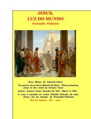 Jesus, luz do mundo - Fernando Pinheiro