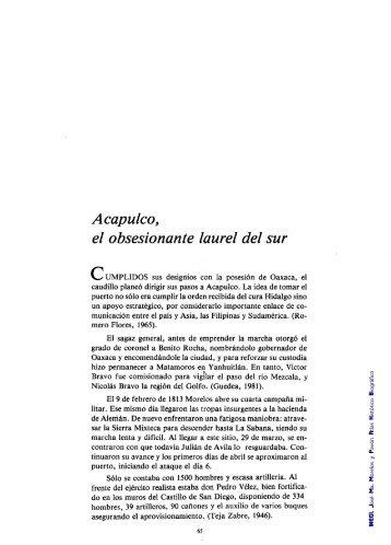 Atlas Histórico Biográfico José Ma. Morelos y Pavón - Inegi