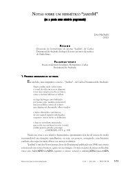 """""""Jardim"""": (ou a poesia como mistério programado) - FALE - UFMG"""