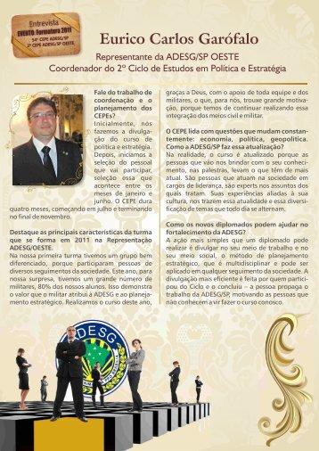 Eurico Carlos Garófalo - Associação dos Diplomados da Escola ...