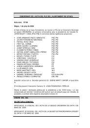 1 ESBORRANY DE L'ACTA DEL PLE DE L'AJUNTAMENT DE ...