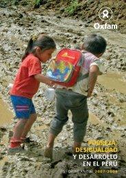 Pobreza y desarrollo en el Perú