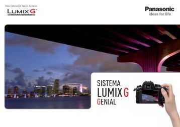 Catalogo LumixG.pdf - Panasonic