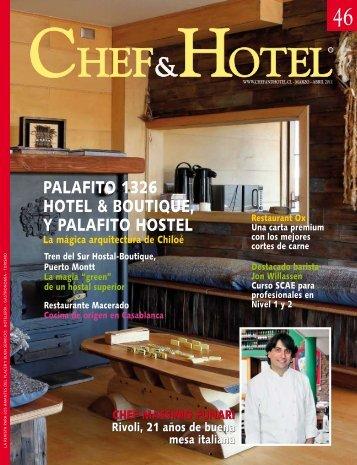 palafito 1326 hotel & boutique, y palafito hostel - Chef & Hotel