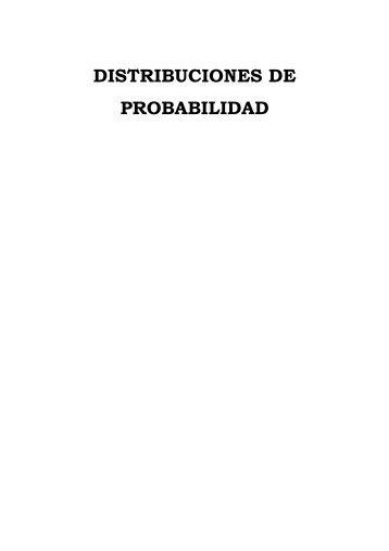 Módulo 4: Distribuciones de probabilidad