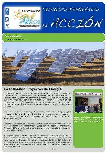 Boletín de Enero a Abril 2011 - ARECA