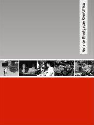 Guia de Divulgação Científica - Museu da Vida - Fiocruz