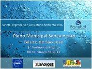 Apresentação Final - Prefeitura Municipal de São José