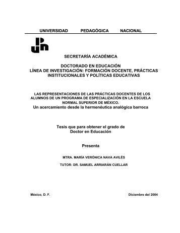PRIMERA PARTE - Universidad Pedagógica Nacional
