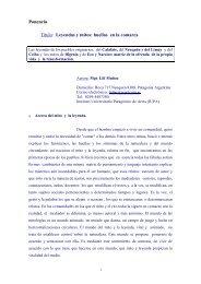 Leyendas y mitos: huellas en la comarca - Facultad de Ciencias ...