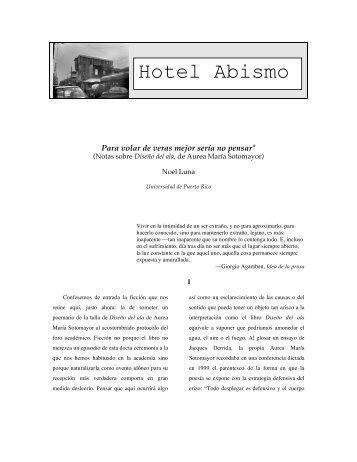 Noel Luna - Hotel Abismo