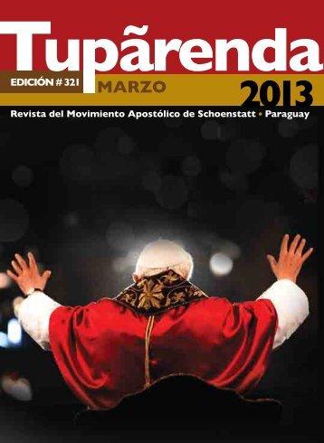 revista Tupãrenda - Movimiento Apostólico de Schoenstatt – Paraguay