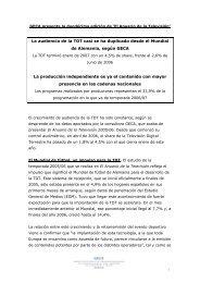 GECA presenta la duodécima edición de 'El Anuario ... - Globomedia