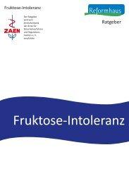 Fruktose-Intoleranz - Reformhaus