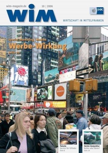 wim-magazin.de 10 | 2006 Special Marketing - Ad!Think ...