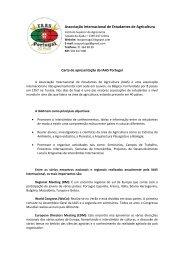 Carta de Apresentação da IAAS Portugal - Universidade Técnica de ...