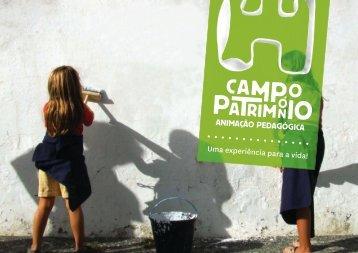 a brochura - Campo Património