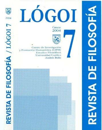 N°7 en pdf - Libros, Revistas y Tesis - Universidad Católica Andrés ...