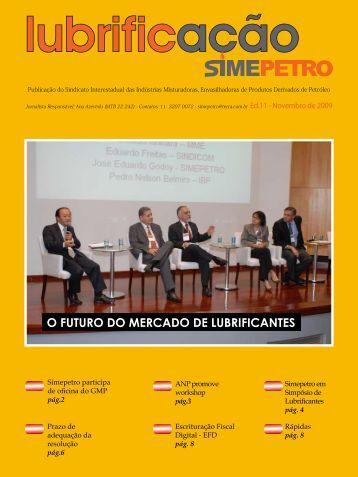 O FUTURO DO MERCADO DE LUBRIFICANTES - Simepetro