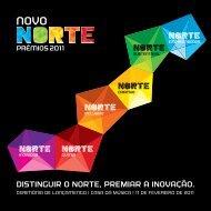prémios novo norte - booklet de apresentação - CCDR-N