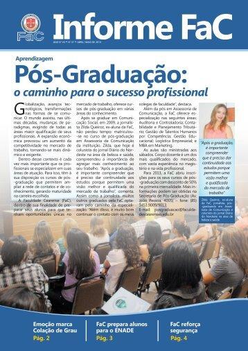 Informe FaC - Faculdade Cearense